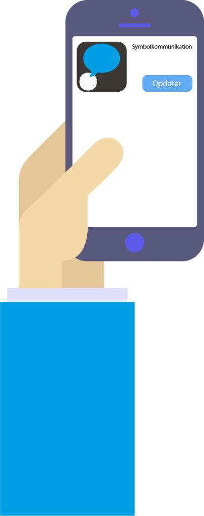 opdatering af iOS app til symbolkommunikation