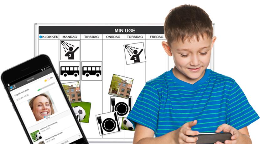 App og tavle der hjælper børn og unge med særlig behov for struktur!